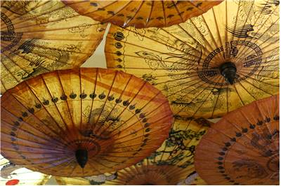 Old Chinese Umbrella